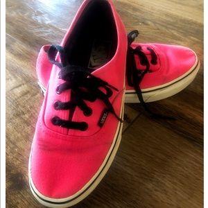 Vans Vintage Hot Pink Lace Up